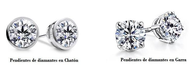 Pendientes diamantes 1 quilate