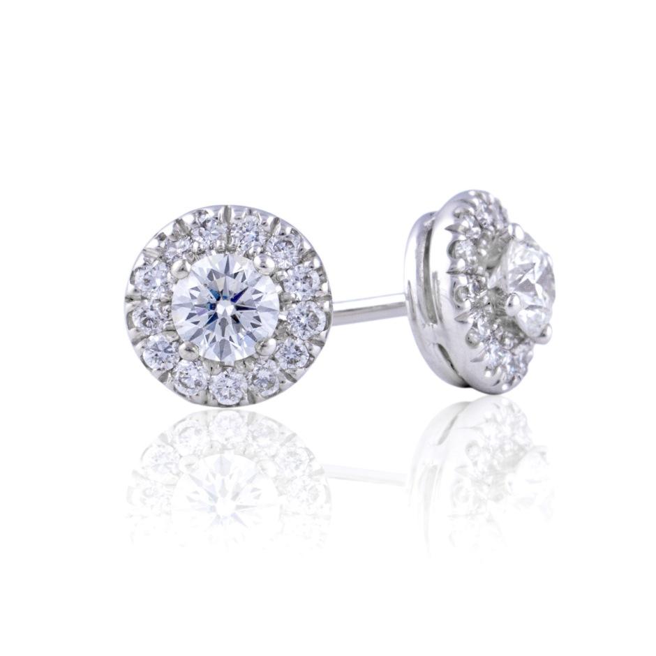 Pendientes de Diamantes para novia