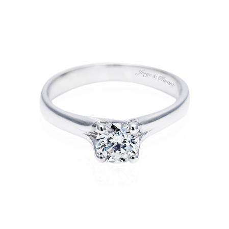 Joyas y diamantes diamantes de compromiso for En que mano se usa el anillo de compromiso